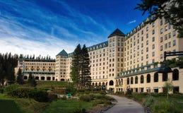 Fairmont Hotel Lake Louise Royalty Free Stock Image
