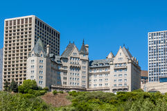 Fairmont Hotel MacDonald Royalty Free Stock Photos