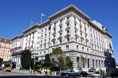 Fairmont Hotel San Francisco stock images