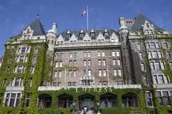 Fairmont imperatorowa hotelowy Wiktoria BC Kanada Obrazy Stock