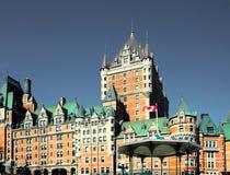 Fairmont Le Castelo Frontenac, Cidade de Quebec, Canadá Fotos de Stock Royalty Free