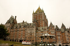 Fairmont le chateau frontenac Stock Photography