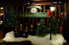 Fairmont le chateau montebello Stock Image