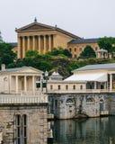 Fairmount muzeum sztuki w Filadelfia i wodoci?g, Pennsylwania obraz stock