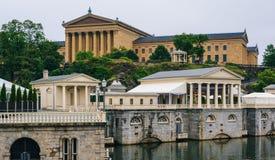 Fairmount muzeum sztuki w Filadelfia i wodoci?g, Pennsylwania fotografia stock
