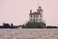 Fairport Harbor Lighthouse Royalty Free Stock Photography