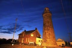 Fairport Harbor Lighthouse Royalty Free Stock Photo