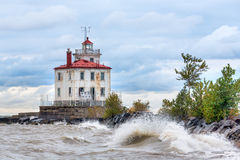 Fairport Harbor Lighthouse Stock Photos