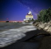 Fairport Harbor Lighthouse Stock Photo