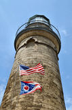 Fairport Light. Image of the Fairport harbor lighthouse Royalty Free Stock Image