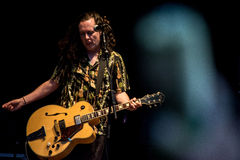 Fairport's Cropredy Covention 2014 - The Wonder Stuff Stock Photos