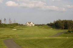 Fairway do golfe Fotos de Stock Royalty Free