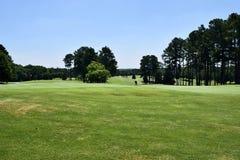Fairway on Georgia golf course Stock Photos