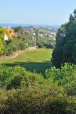 Fairway golf Royalty-vrije Stock Afbeeldingen