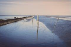 Fairway Harbour Neuharlingersiel Stock Images