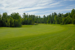 Fairway to green Royalty Free Stock Photos