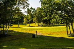 Let& x27;s tee off royalty free stock image