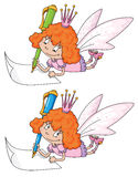 Fairy and реn Stock Images