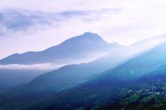 Fairy ландшафт горы Стоковое Изображение RF