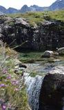 Fairy бассейны, остров Skye, Шотландии Стоковые Фотографии RF