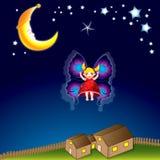 fairy девушка немногая Стоковое Фото