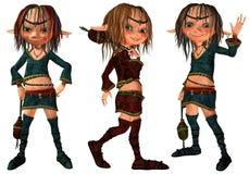 fairy девушка немногая 3 Стоковая Фотография