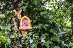 Fairy дом на дереве Стоковые Изображения