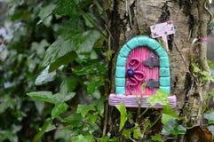 Fairy дом на дереве Стоковые Изображения RF