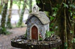Fairy дом на дереве Стоковое Изображение