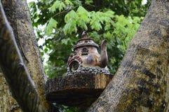 Fairy дом на дереве Стоковая Фотография