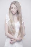 Fairy девушка в накаляя свете Стоковые Фото