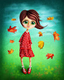 fairy девушка немногая Стоковая Фотография