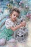 Fairy девушка Стоковое Изображение RF