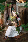 Fairy девушка Стоковая Фотография