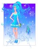 fairy зима Стоковые Фотографии RF