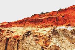 Fairy каньон потока Стоковые Фото