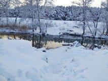 Fairy ландшафт зимы Стоковое Изображение