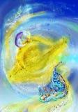 fairy малый мир сказа Стоковая Фотография