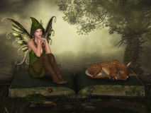 Fairy мечты иллюстрация вектора