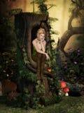 Fairy мечты бесплатная иллюстрация