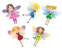Fairy набор Стоковое Изображение
