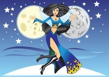 fairy ноча Стоковые Фотографии RF