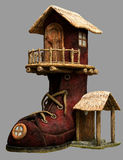 Fairy дом ботинка бесплатная иллюстрация
