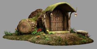 Fairy дом журнала Стоковые Фото
