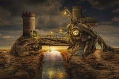 Fairy дом (форт) Стоковое Изображение RF