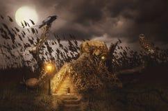fairy дом иллюстрация штока