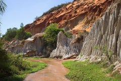 Fairy поток (Fairy поток) в Вьетнаме Стоковая Фотография RF