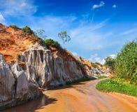 Fairy поток Suoi Tien, Вьетнам Стоковые Фотографии RF