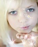 fairy поцелуи Стоковое фото RF