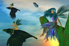 fairy рогульки Стоковые Изображения